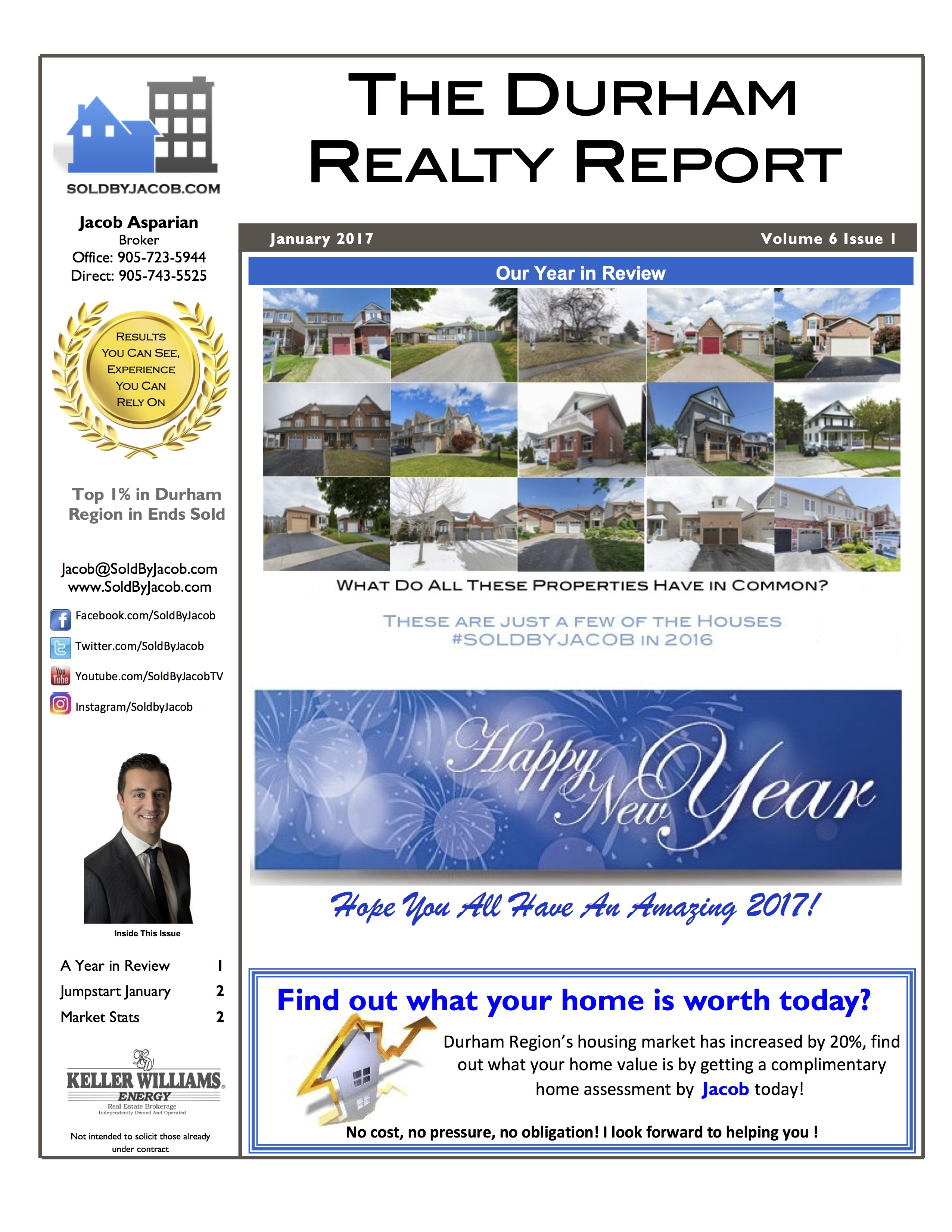 Durham Realty Report-January 2017