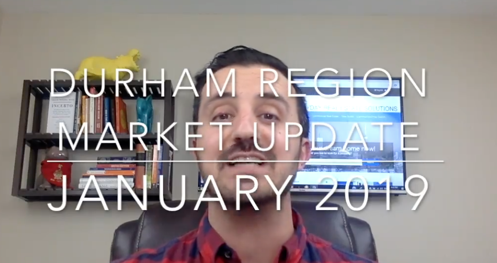 Your Durham Region Market Update for January 2019