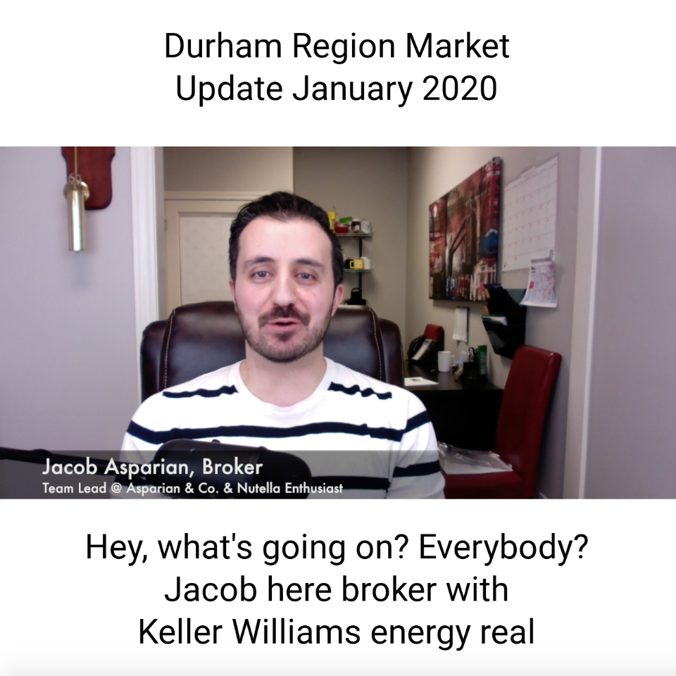 January 2020 Durham Region Real Estate Market Update Vlog