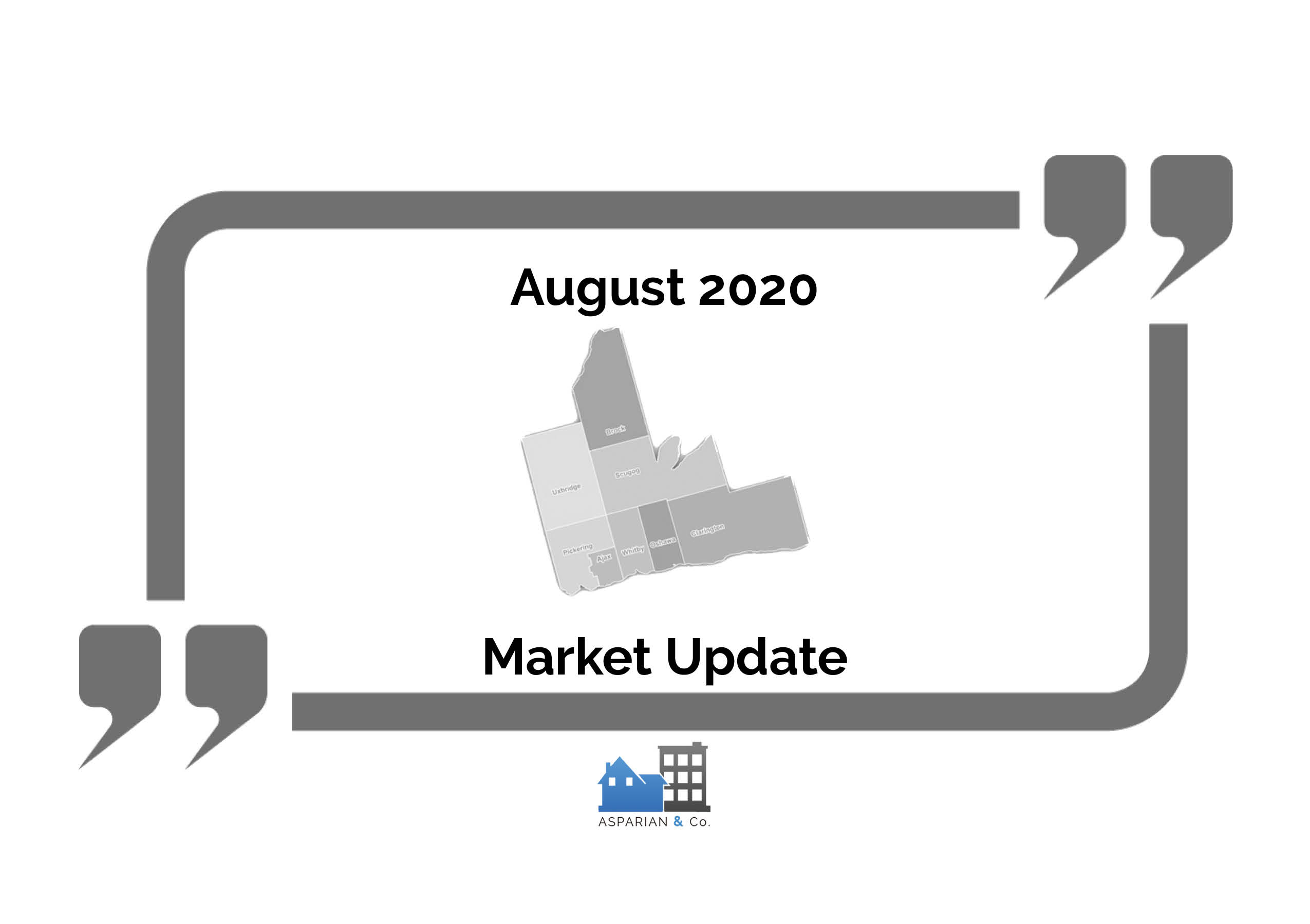 August 2020 Durham Real Estate Market